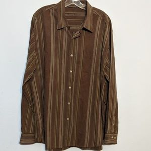 Tommy Bahama XL Button Down Long Sleeve Striped